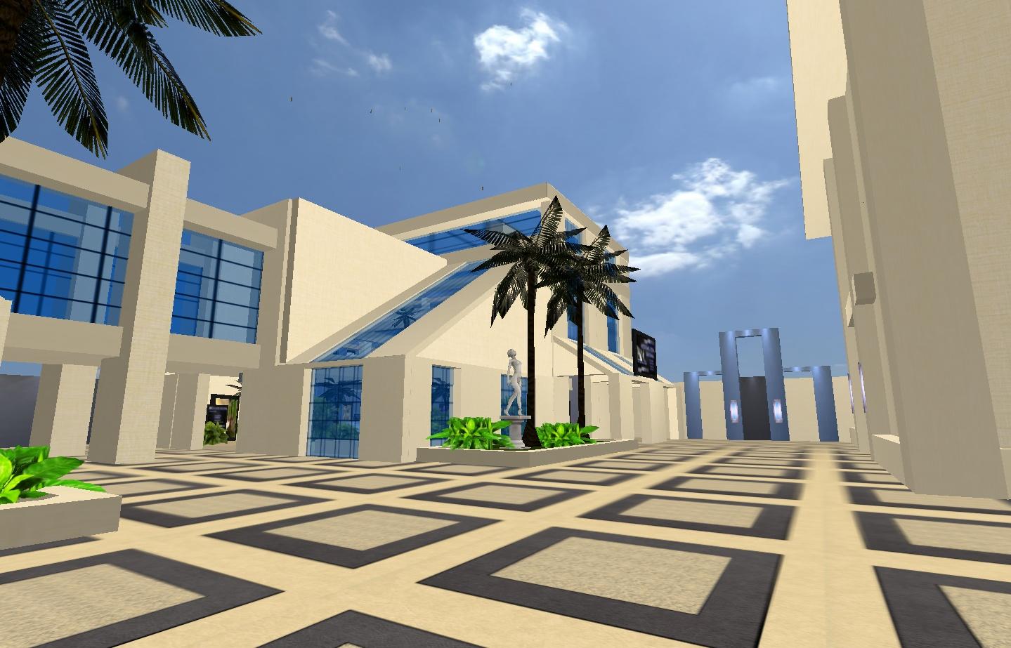 Das neue Palais de Création